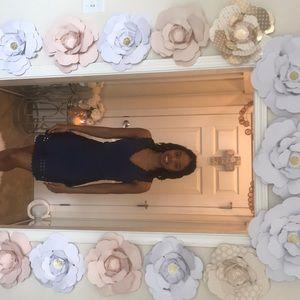 Alya Royal Blue Mini Dress